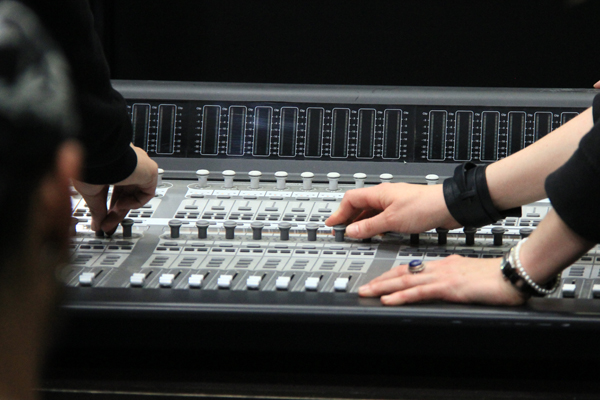 Alberta Academy of Recording mixer picture