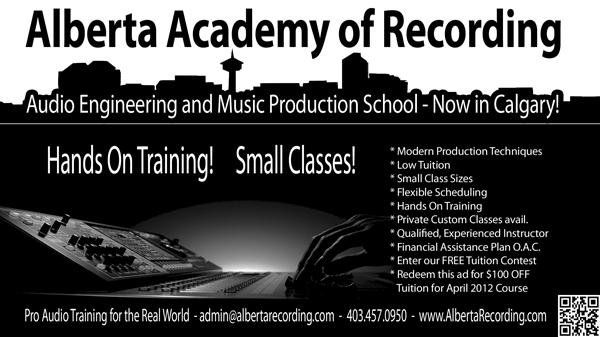 Alberta Academy of Recording